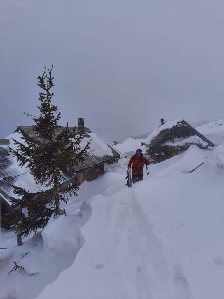 Ski de randonnée Briançon Col des Portes Arpelin 1