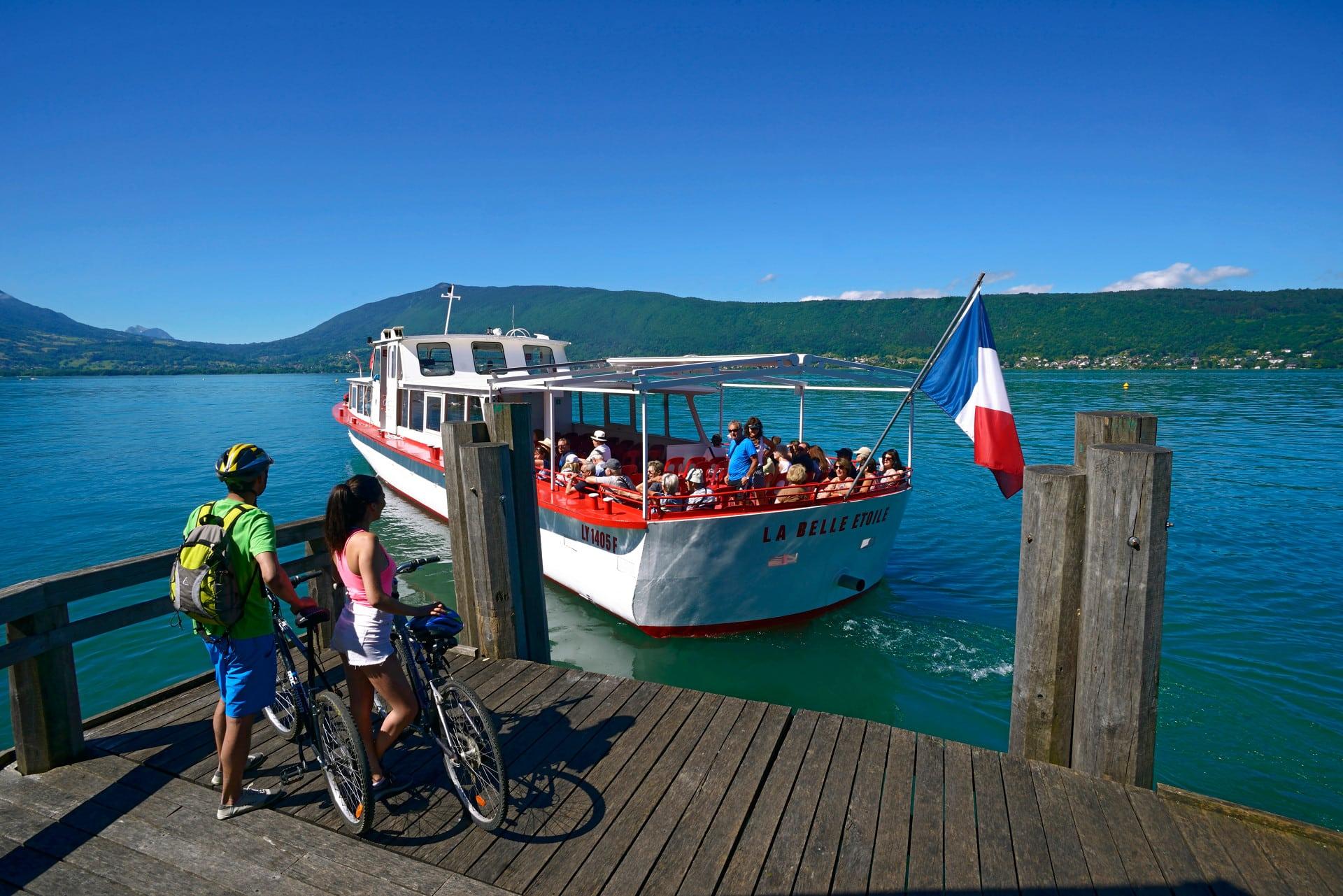 Se deplacer autour du lac Annecy